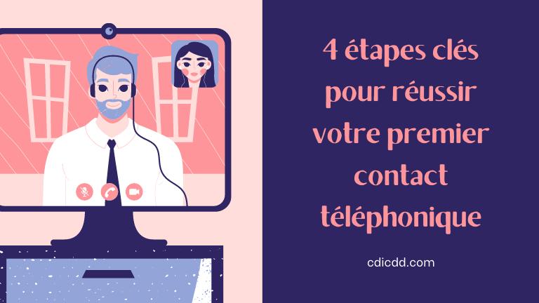 Contact telephonique recruteur