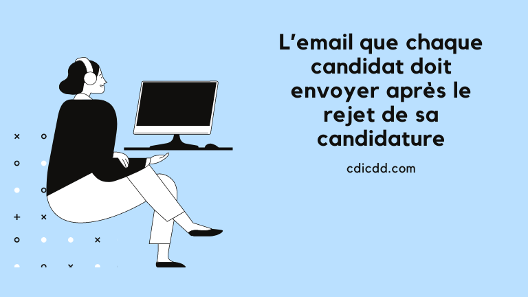 Email rejet candidature