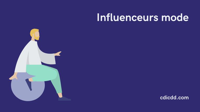 Influenceurs mode