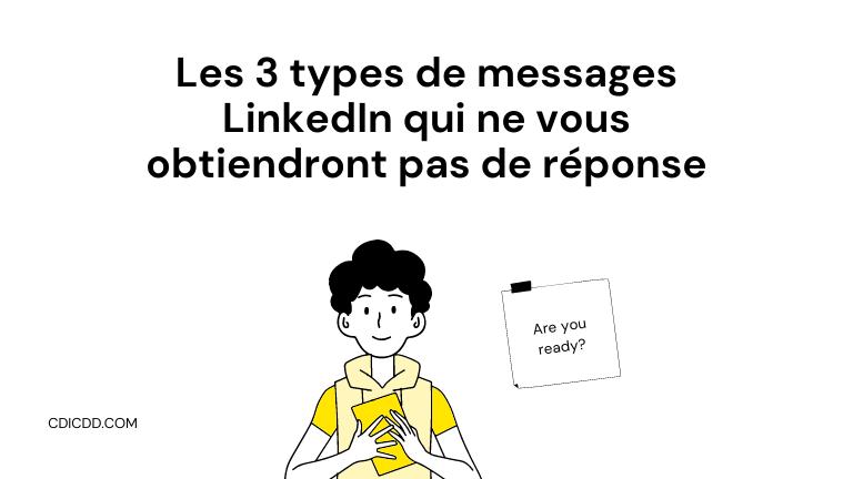 Types de messages LinkedIn