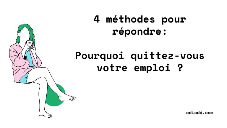 Quitte votre emploi